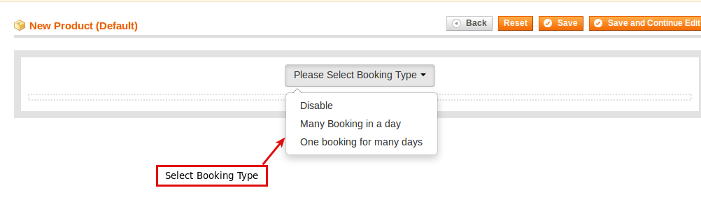 magento reservation and booking