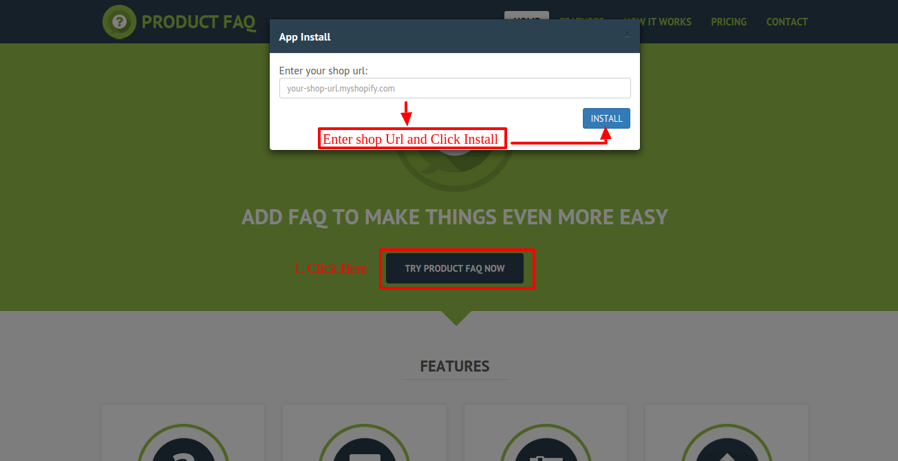 Product FAQ Shopify • Webkul