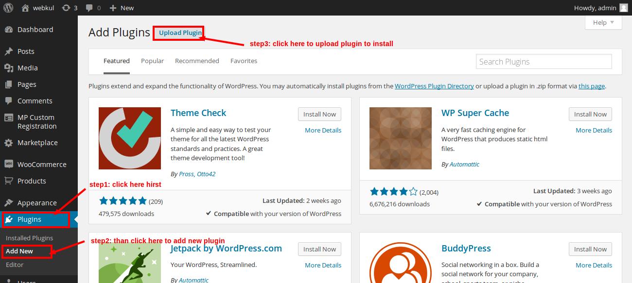 Wordpress Woocommerce Marketplace Custom Registration oiuytr