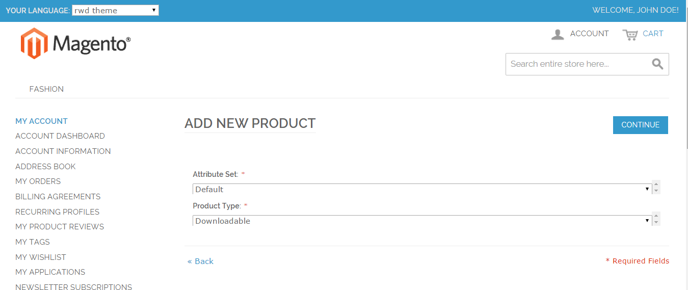 downloadable product