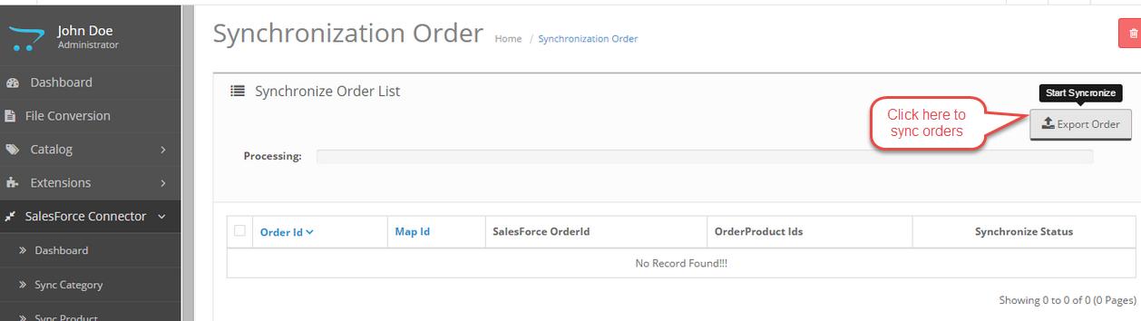 delete order