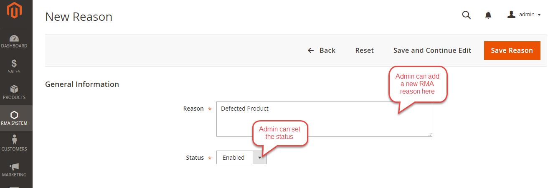 Magento 2 Product Return RMA