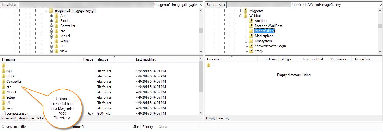 Installation of Magento2 Image Gallery