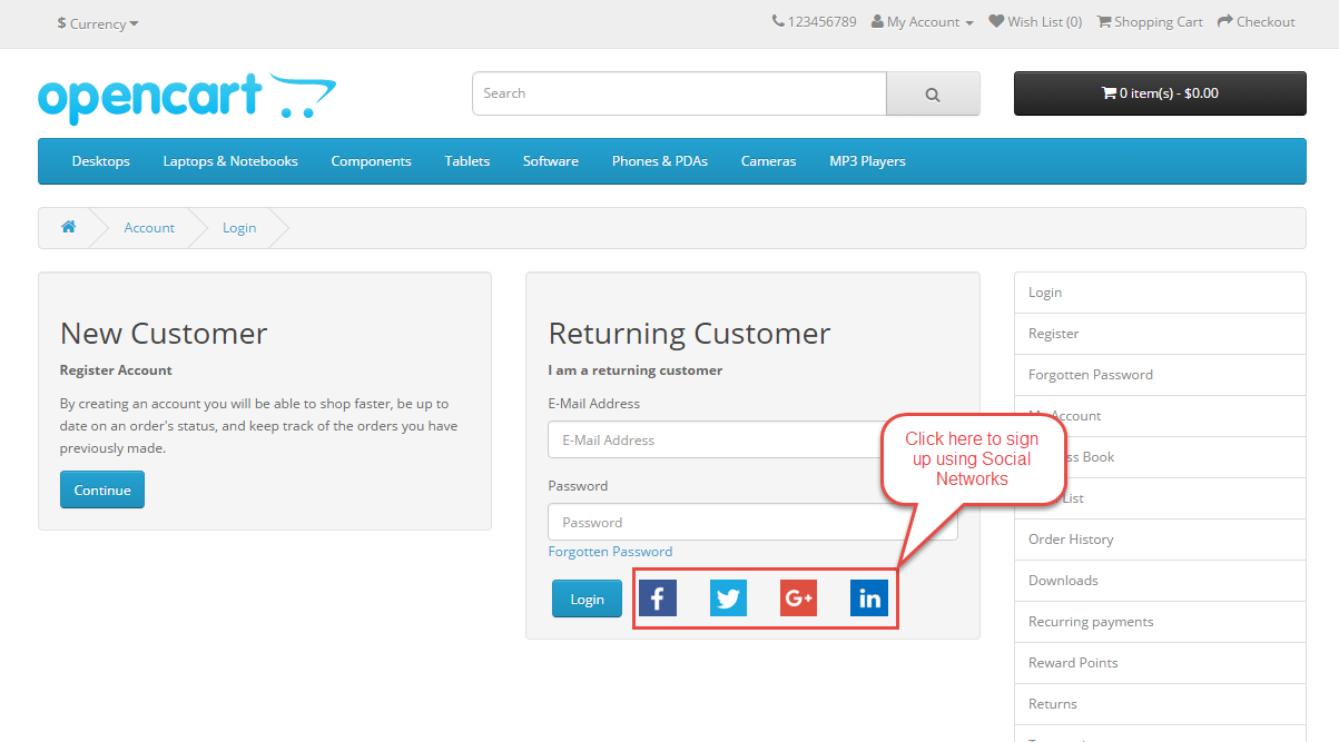 Frontend View Customer