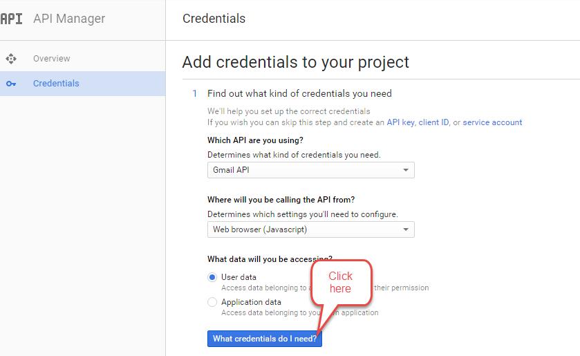 Check Credentials