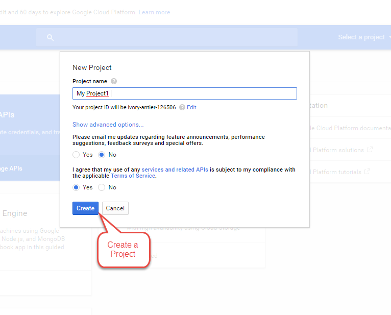 Application for Google 1