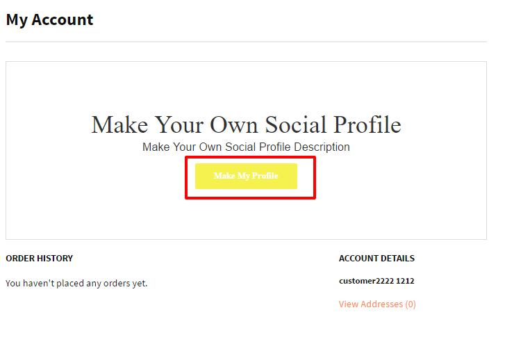Account – social ec