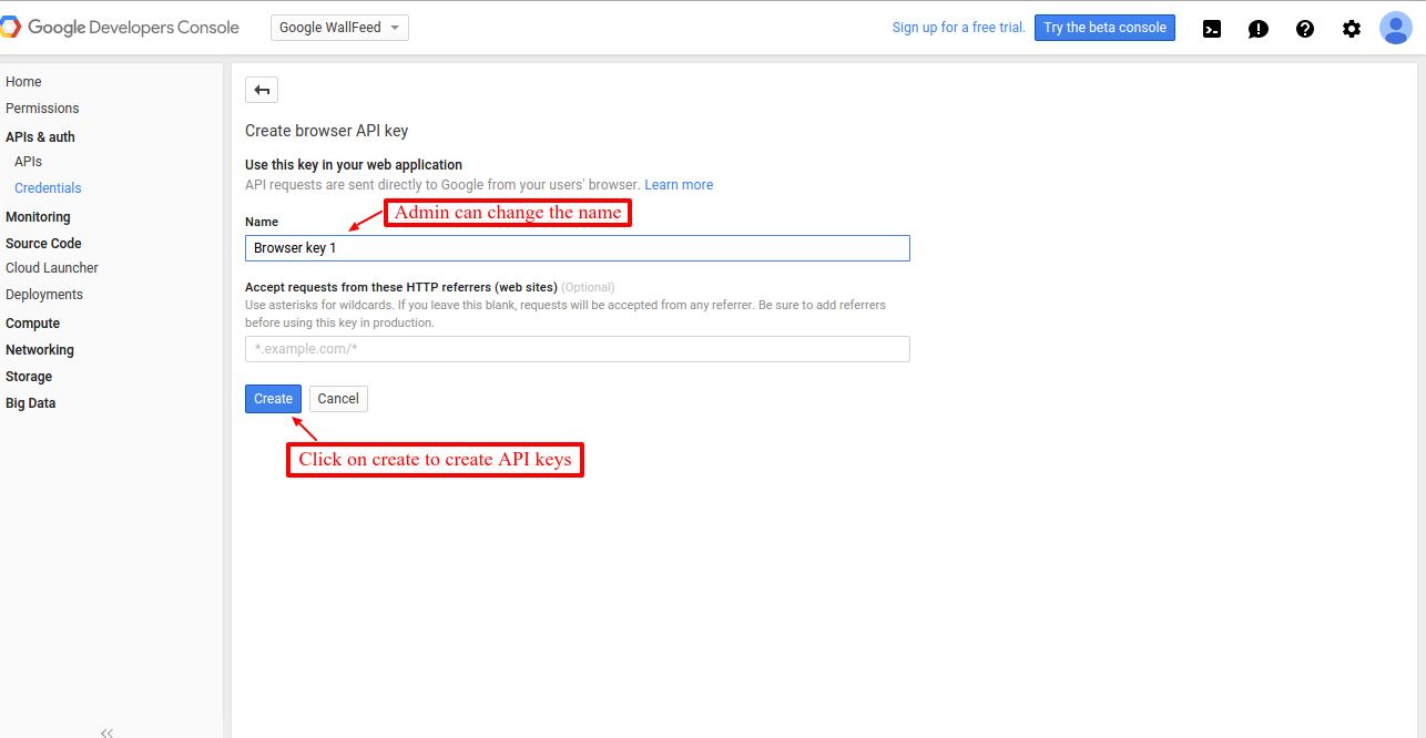 How To Get The API Keys