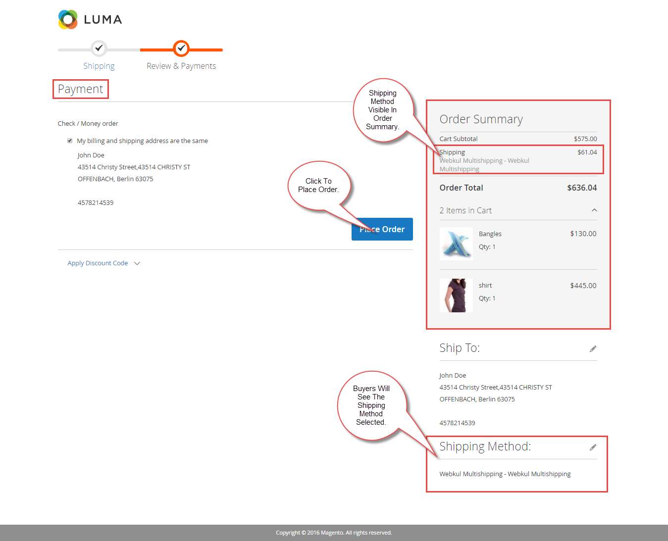 How To Use Marketplace Multi-Shipping For Magento2