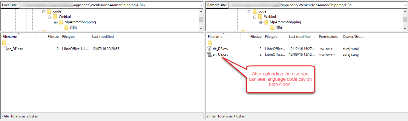 Marketplace Aramex Shipping For Magento2 Translation