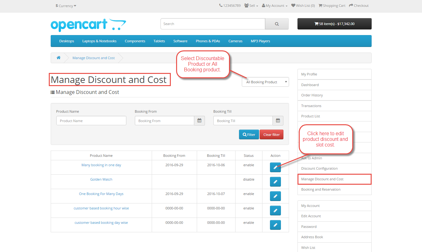 How To Apply Discounts On Booking & Reservation Products