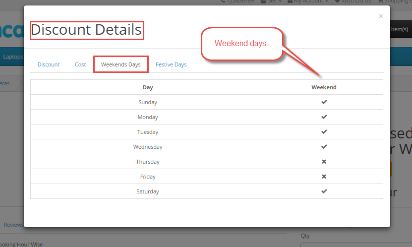 Frontend Of Marketplace Advanced Booking & Reservation Discount