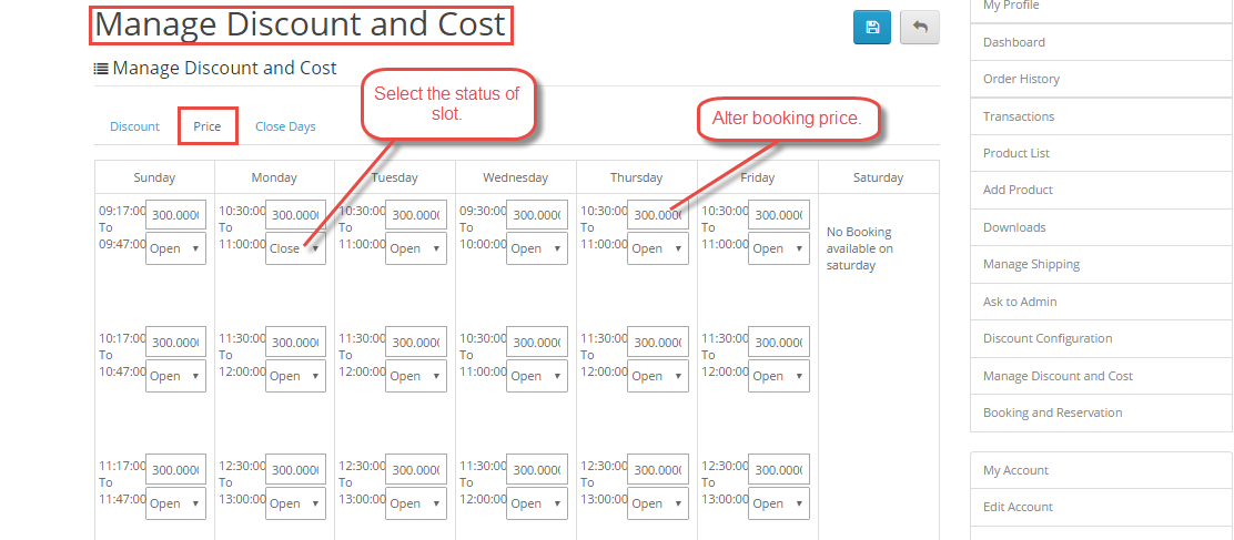 Applying Discounts To many Booking In One Day