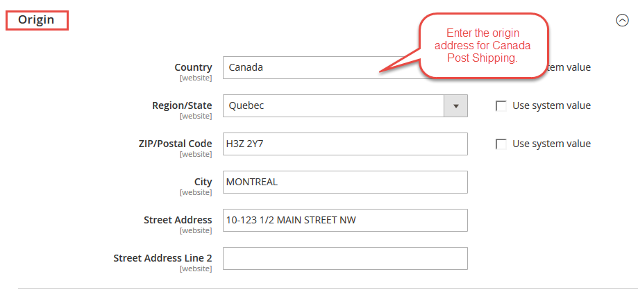 Canada-post-Shipping