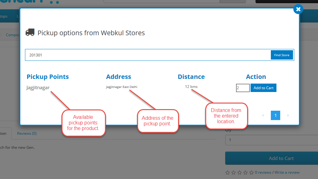 Opencart Marketplace Store Pickup For Customers