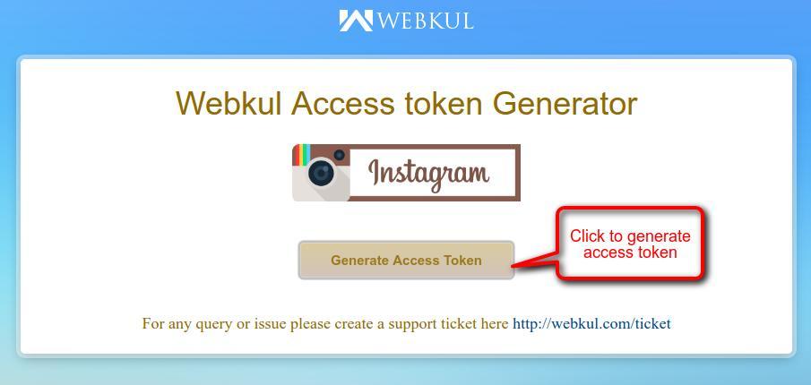 Create Instagram Access Token - Webkul Blog