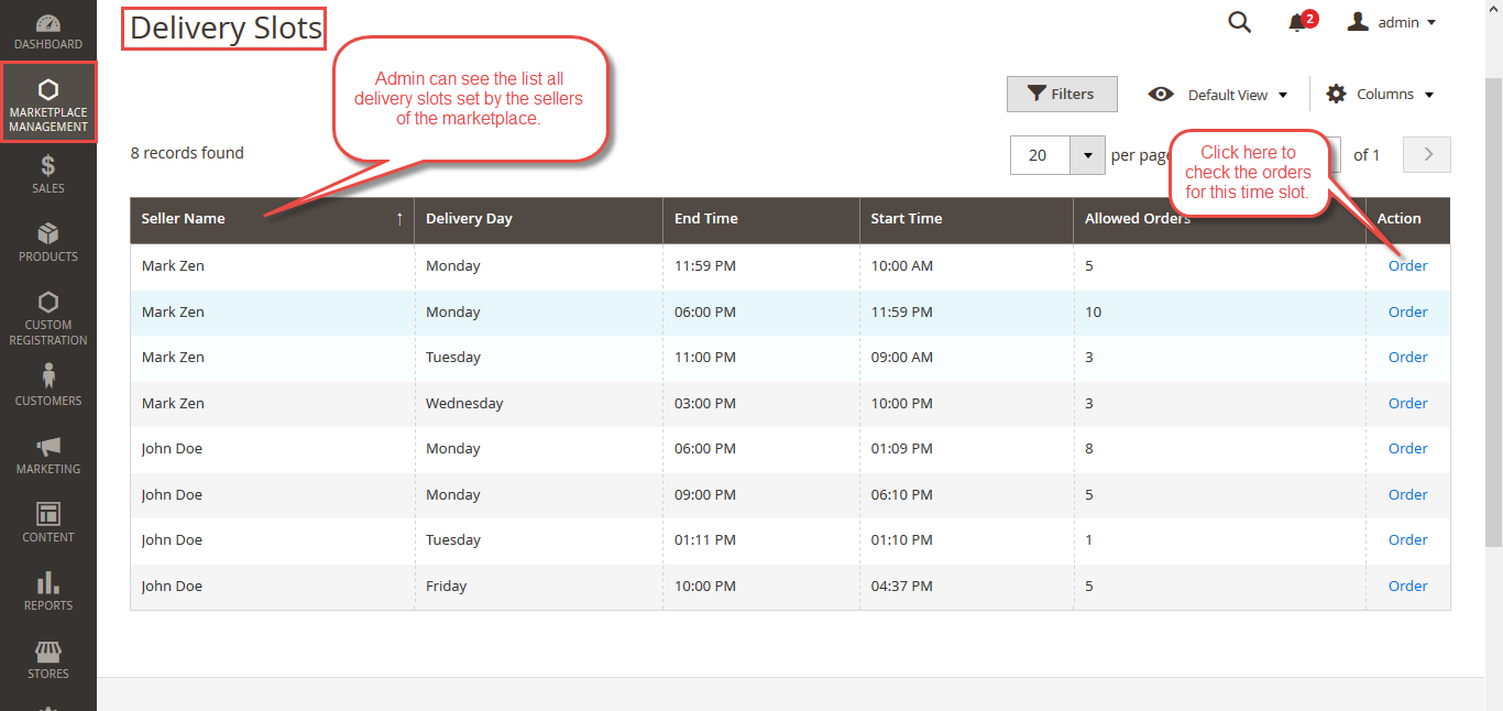 Admin Configuration For Magento2 Marketplace Delivery Time