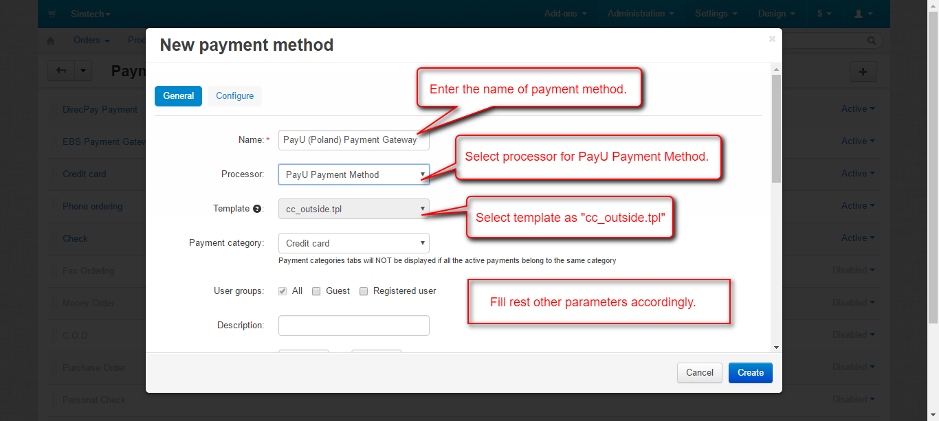 Add payment