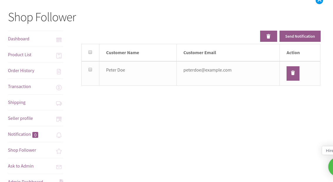Wordpress WooCommerce Marketplace-shop-followers-1