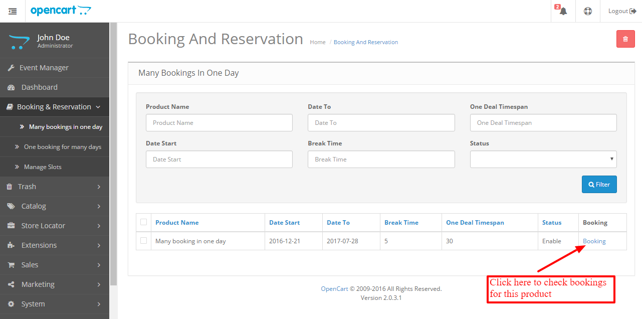 Add booking