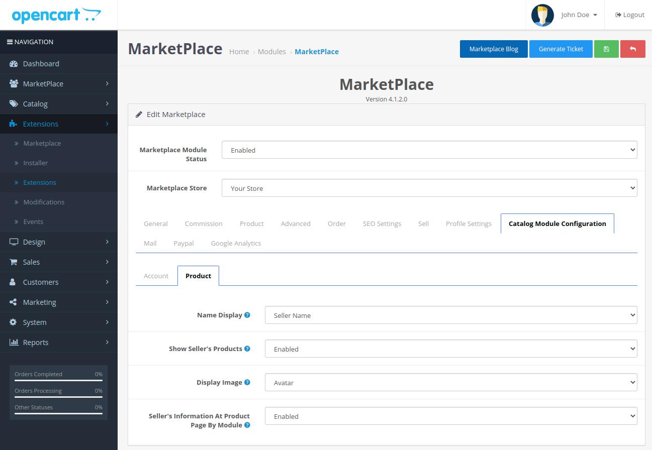 webkul-opencart-multi-vendor-marketplace-catalog-module-configuration-product-tab