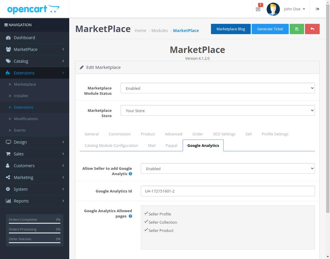 webkul-opencart-multi-vendor-marketplace-google-analytics-tab