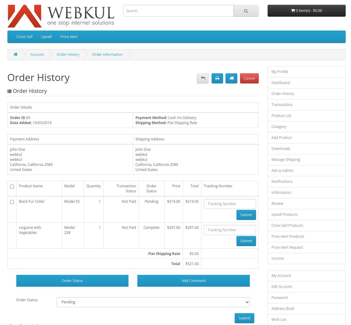 webkul-opencart-multi-vendor-marketplace-seller-end-order-information-1