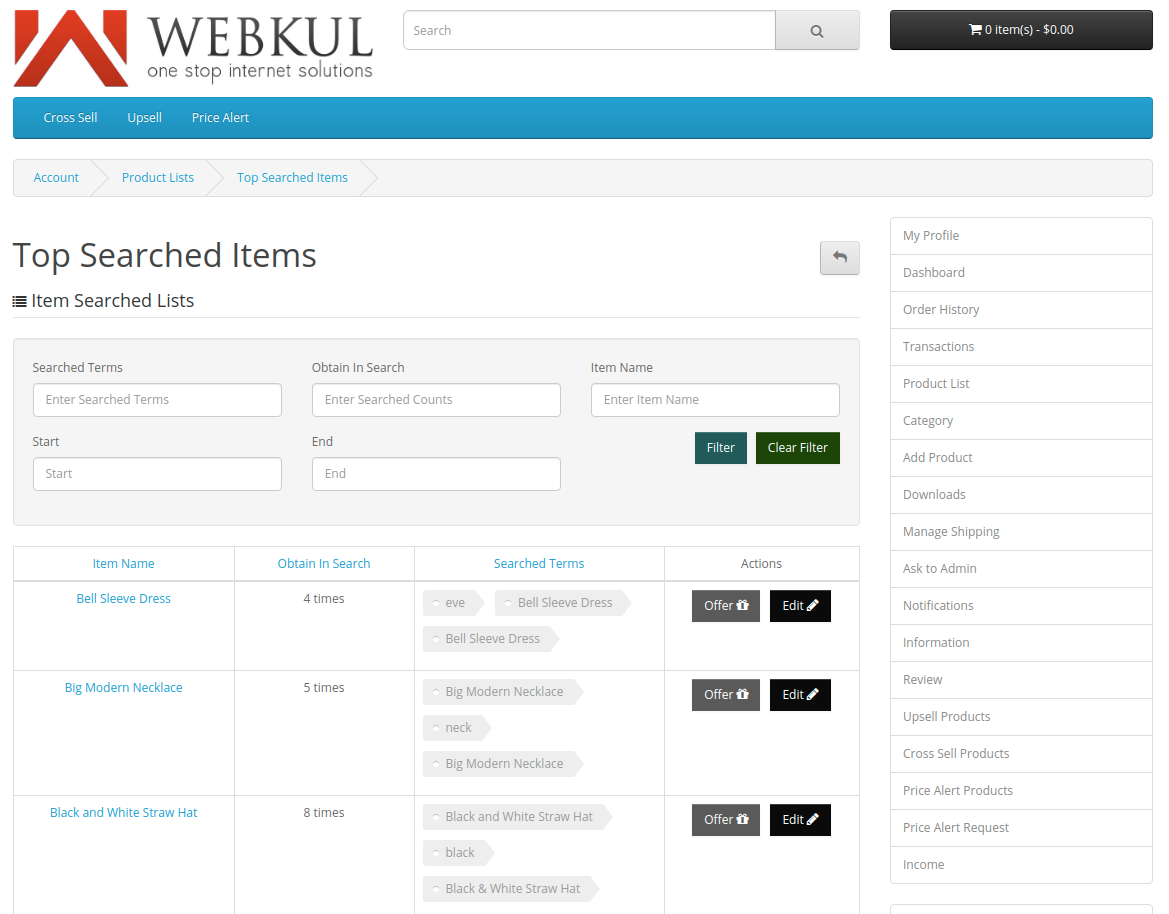 webkul-opencart-multi-vendor-marketplace-seller-end-top-searched-items