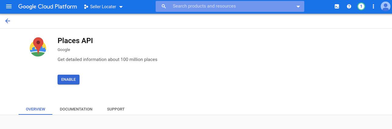 Enable-Places-API
