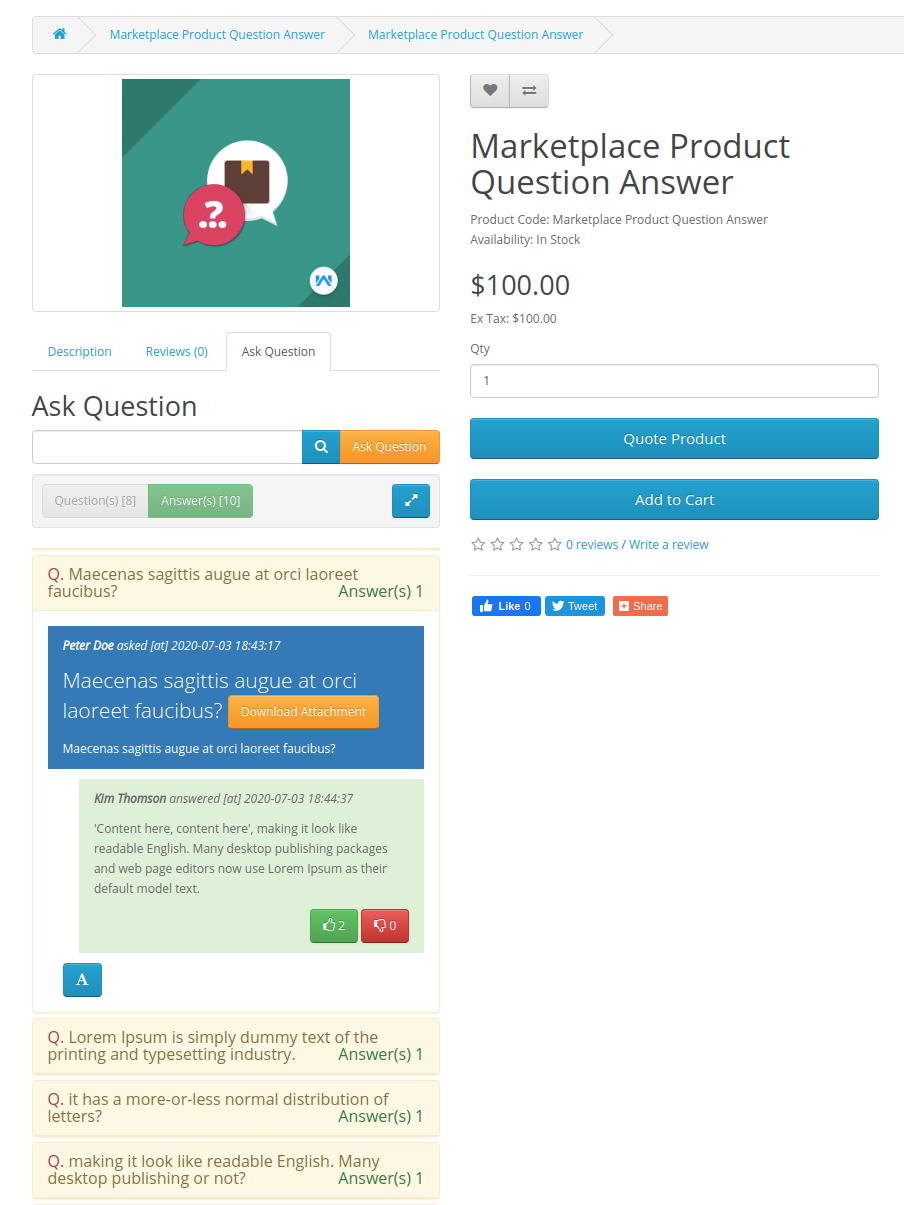 webkul-opencart-marketplace-product-question-and-answer-customer-end