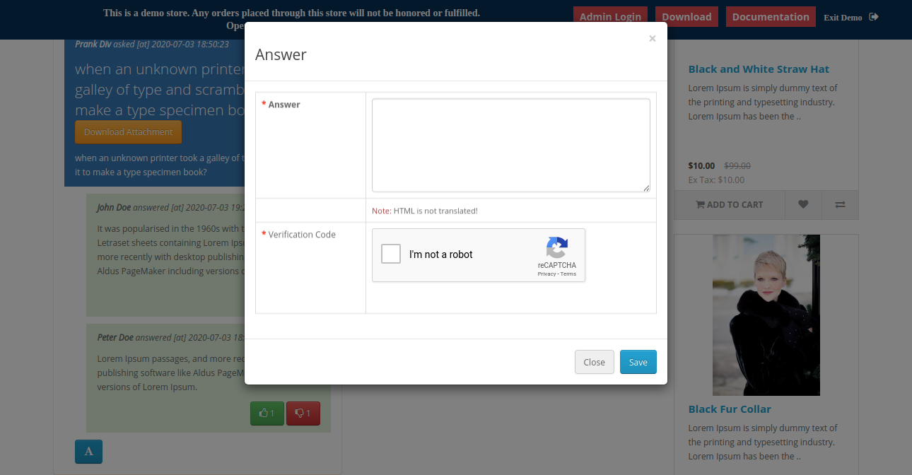 webkul-opencart-marketplace-product-question-answers-add-details-after-login
