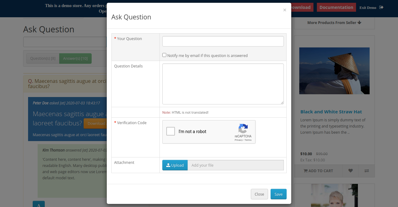 webkul-opencart-marketplace-product-question-answers-login-to-to-submit-question