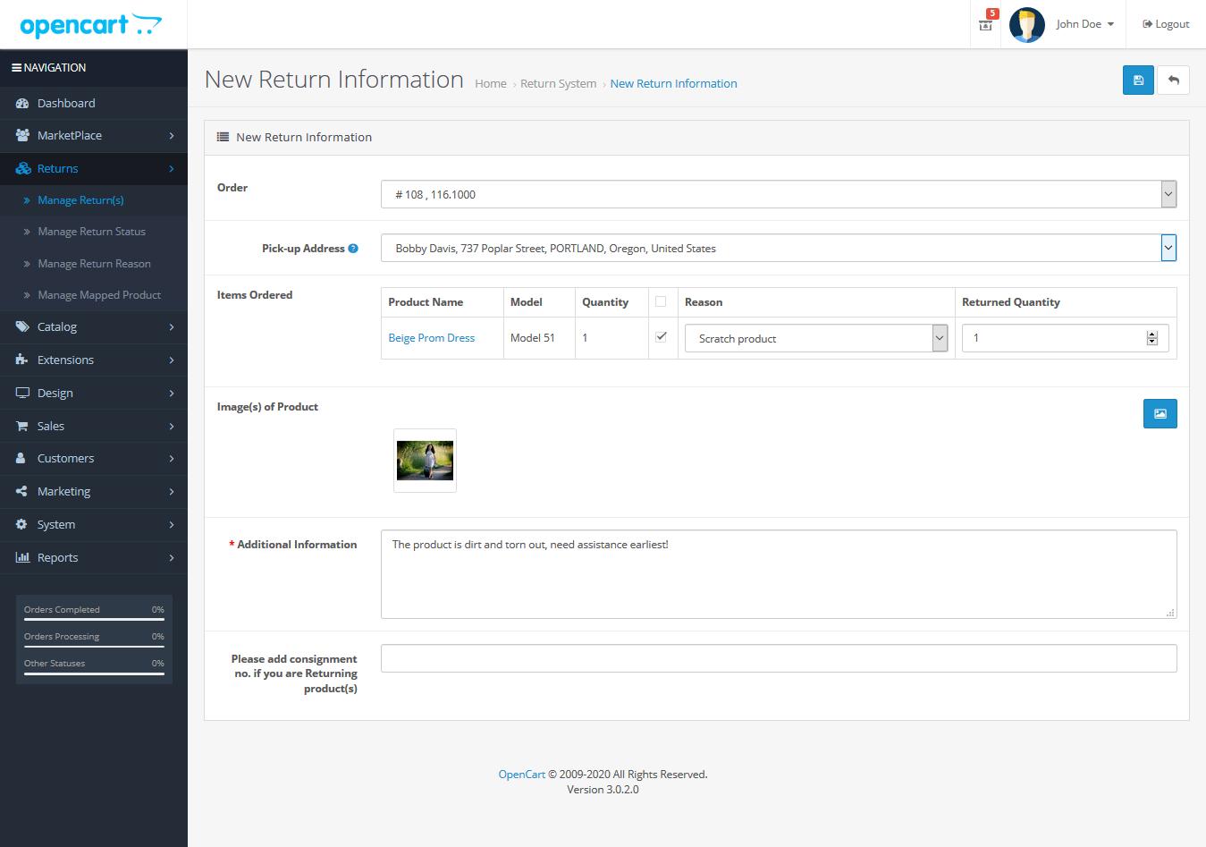 return_information