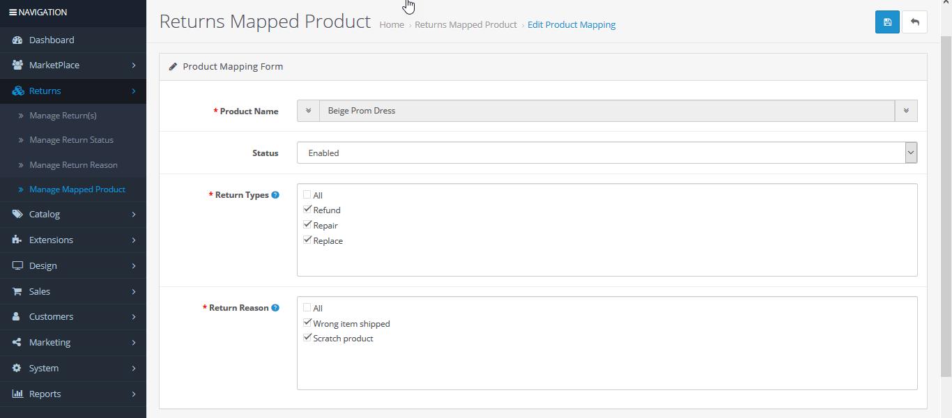 webkul_opencart_marketplace_rma_return_enabled_product_list_return_mapped_product_edit_rma_options