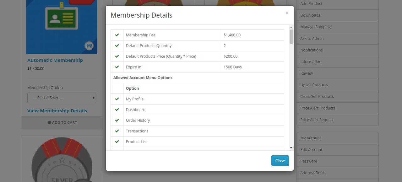 Membership-Details
