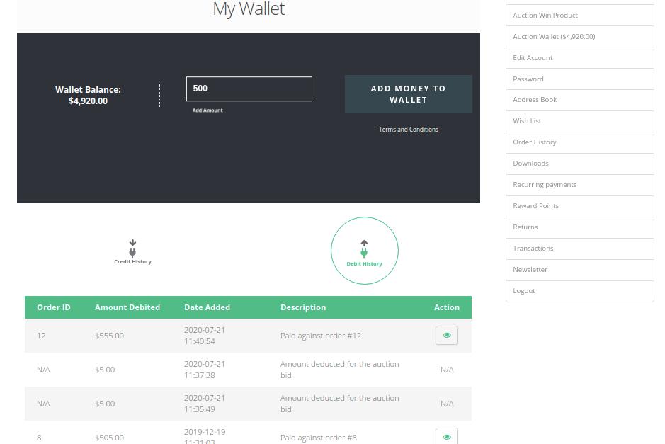 auction-wallet