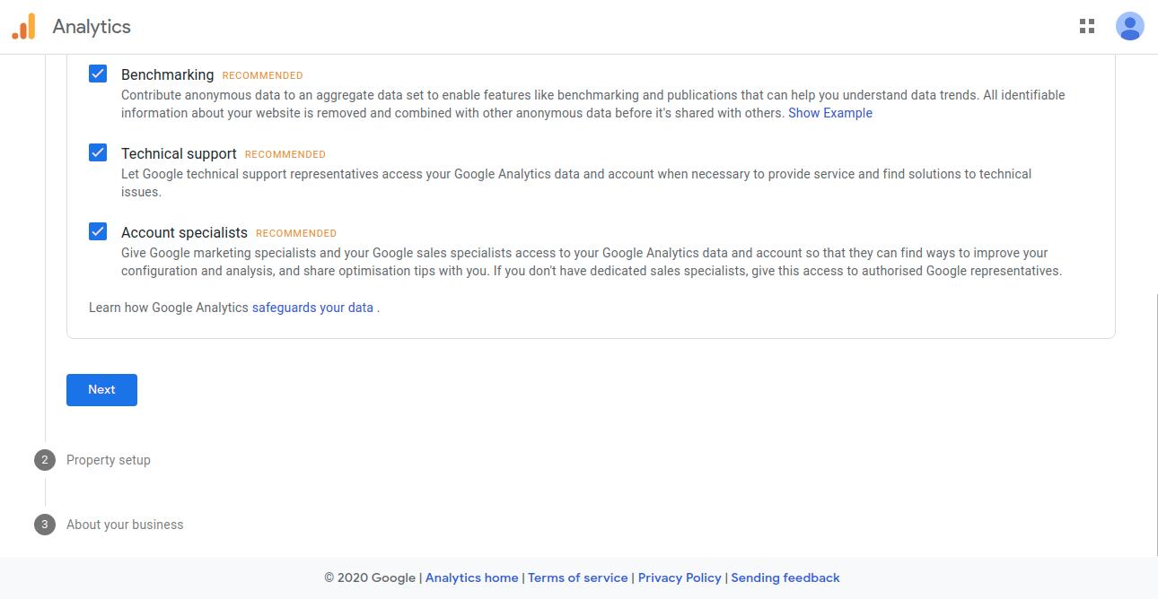 multi vendor - google analytics