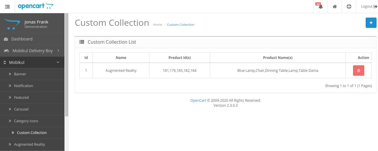webkul-opencart-mobile-app-assign-custom-collection