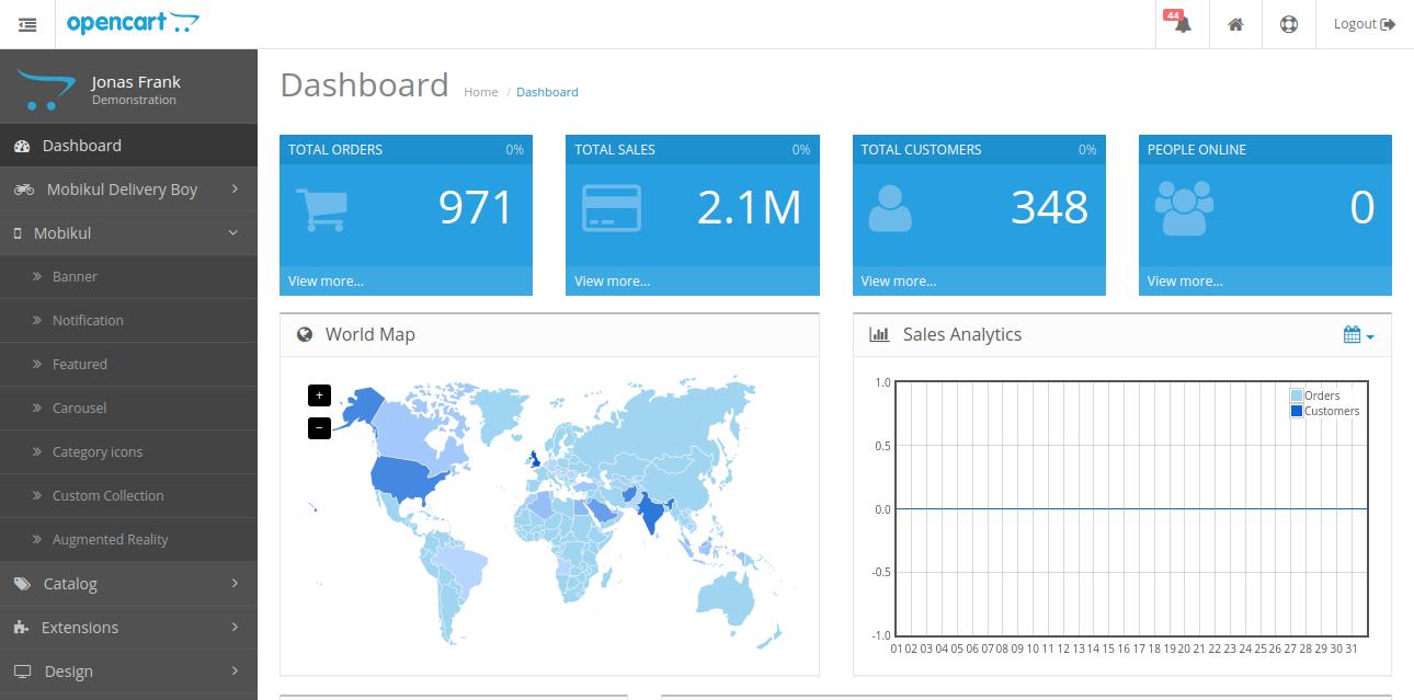 webkul-opencart-mobile-app-dashboard