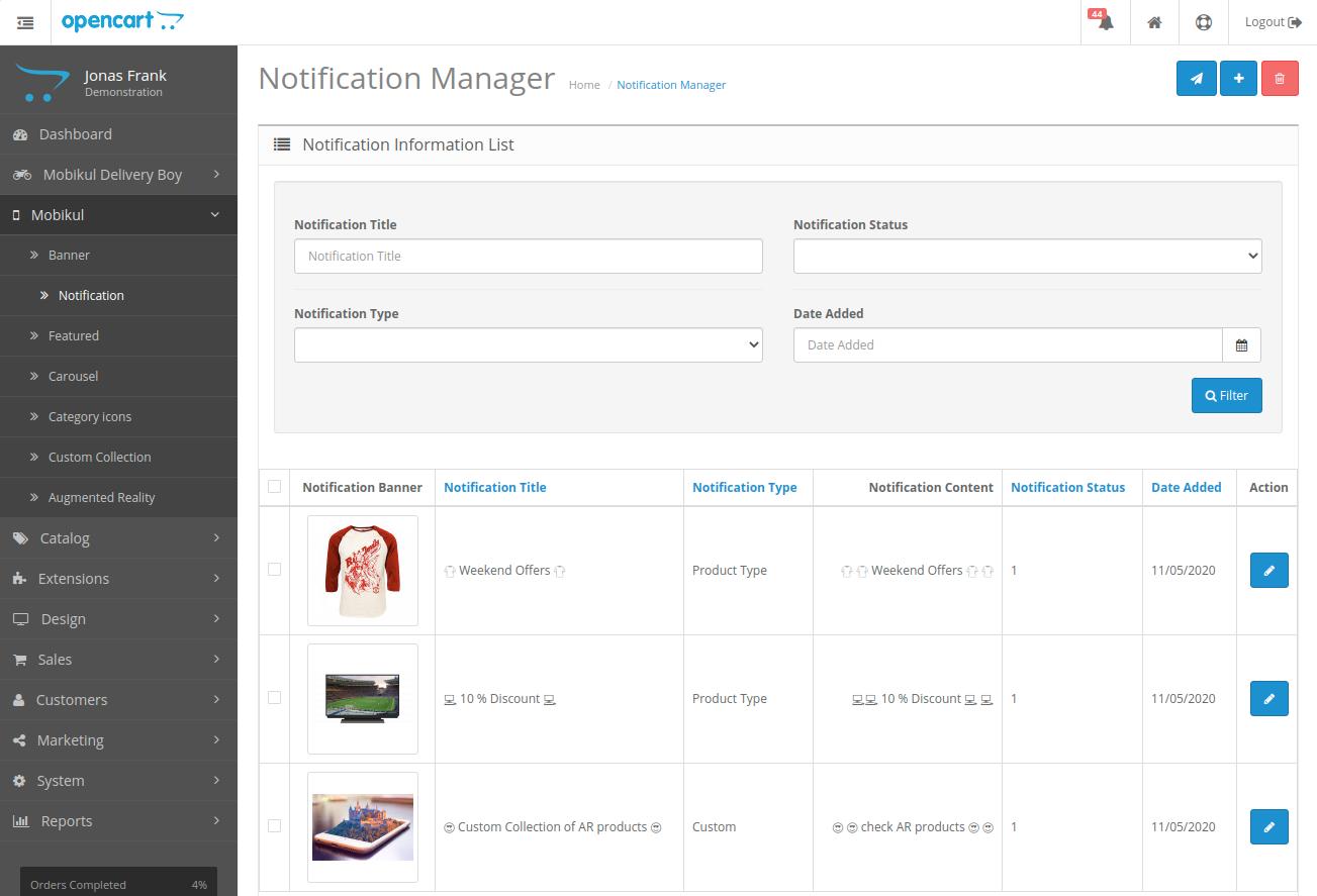 webkul-opencart-mobile-app-notification-manager