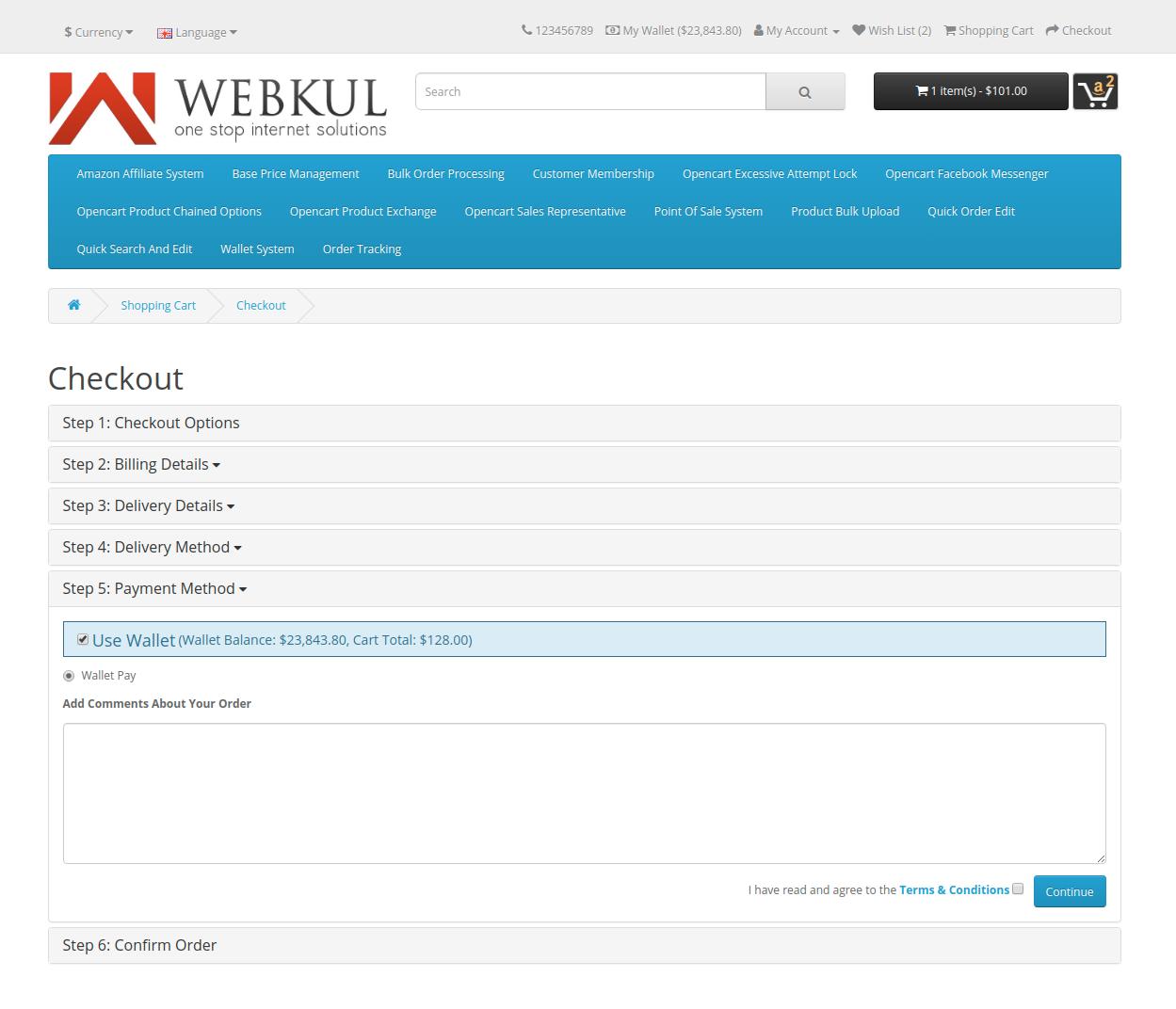 webkul-opencart-wallet-system-payment-gateway