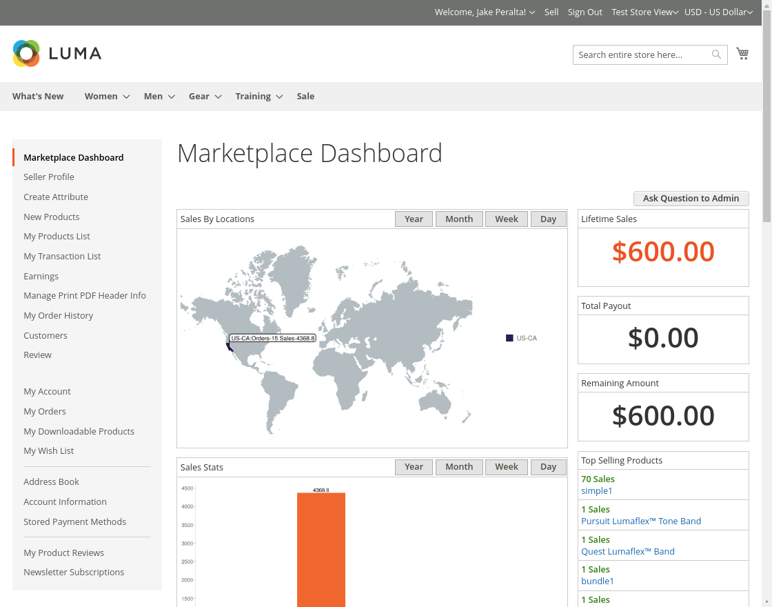 Multi Vendor - marketplace_account_dashboard