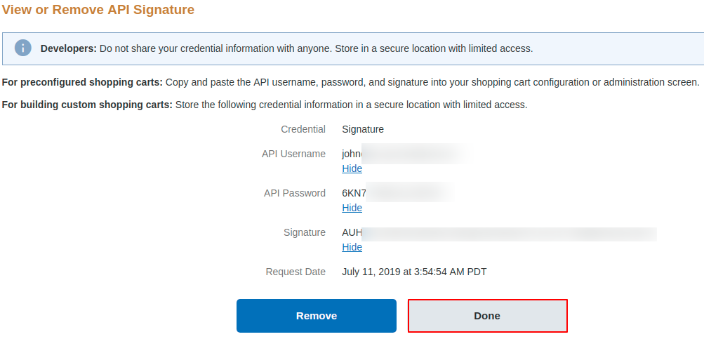 MAGENTO 2 PAYPAL API USERNAME - Magento 2 PayPal Payment