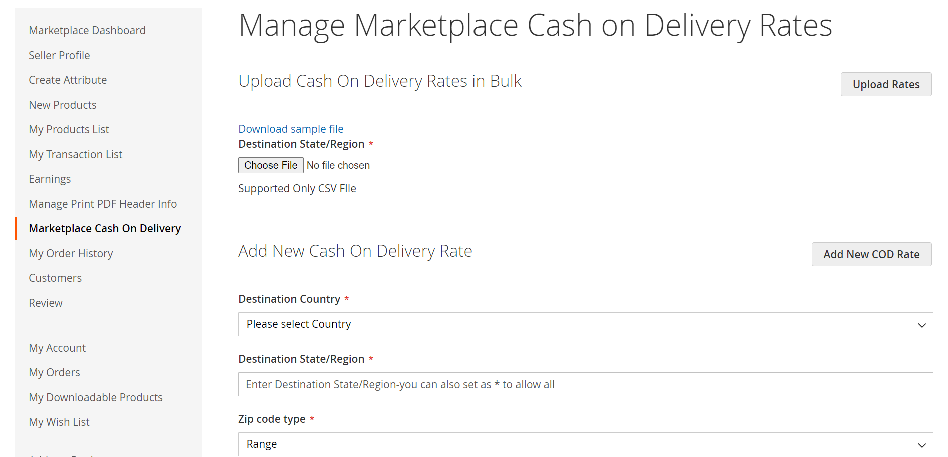 Manage-Marketplace-Cash-On-Delivery-Rates