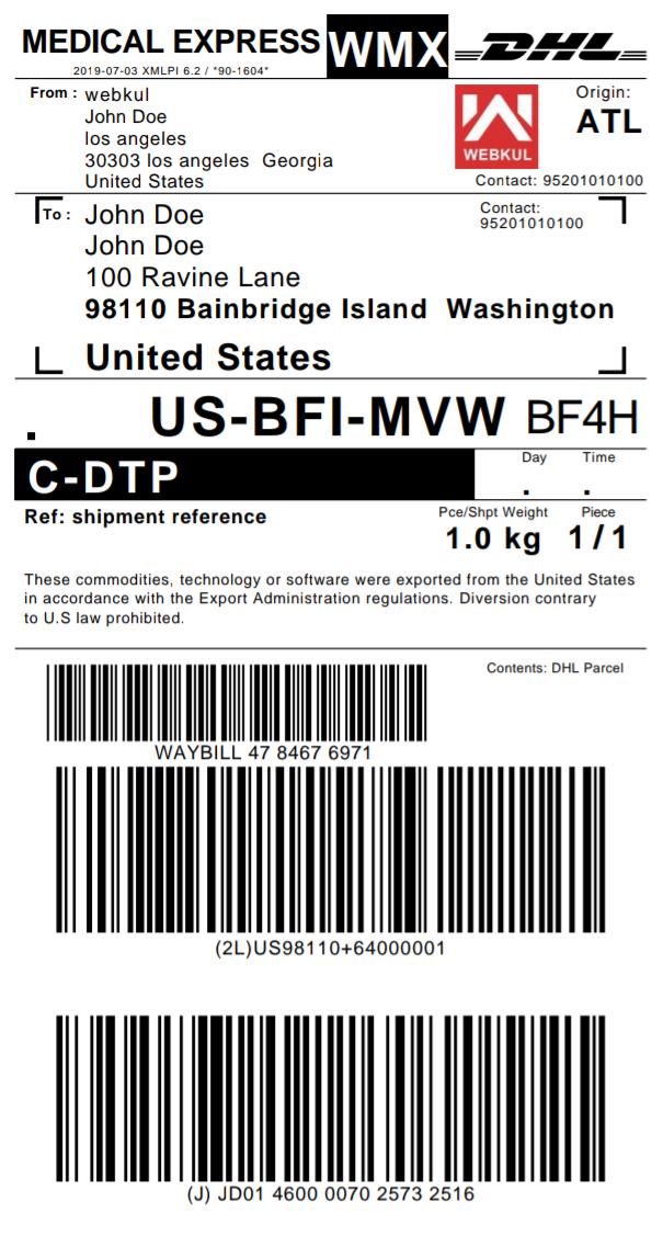 default-logo-DHL-shipping-label