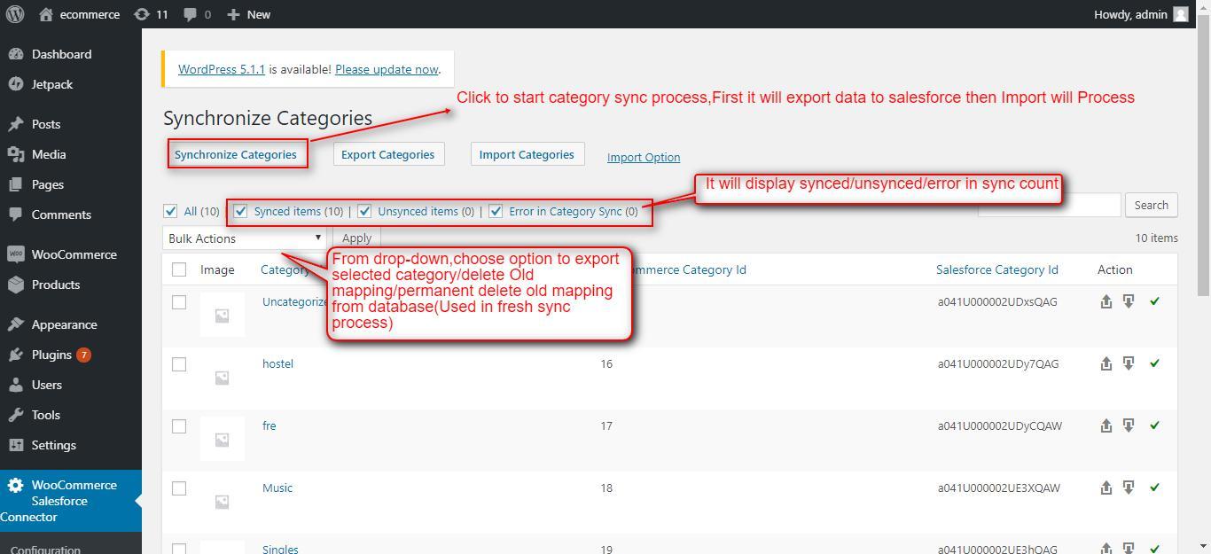 Synchronize Categories ‹ ecommerce — WordPress (2)
