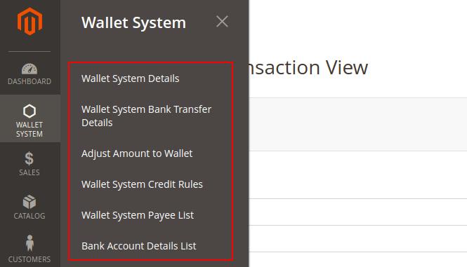 wallet system