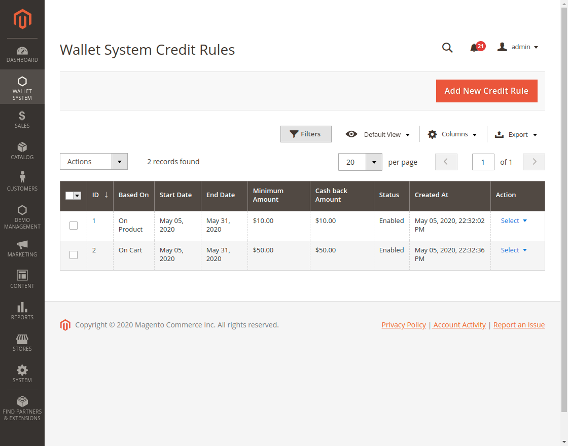 Wallet_System_Credit_Rules