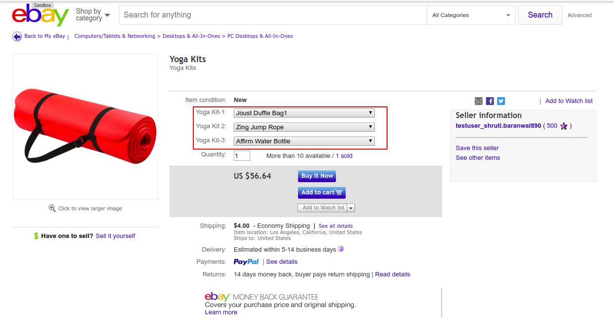 Yoga Kits eBay