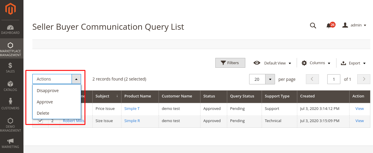 query-list